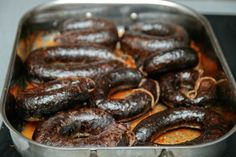 Estonian Blood Sausage (recipe sounds much like the Latvians version of 'putraimu desa' as well)
