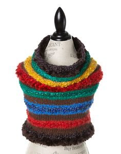 TO CELEBRATE CANADA'S 150TH YEAR IN 2017, GŌBLE CREATED THE CANADIANA COLLECTION. GŌBLE Canadiana Rockies Infinity Scarves for Women are a luxurious blend of Merino Wool, Alpaca, Silk and Mohair THESE INFINITY SCARVES FEATURE: Genuine Canadian Sheared Beaver Trim HAND KNIT IN CANADA  GOBLE.CA