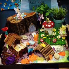 Fairy world sensory small world