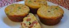 Foto - Receita de Muffin de cenoura e calabresa