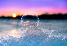 Wonderful color reflection in the bubble ♥ by Valentina Altenstrasser Photography In Natura, Soap Bubbles, Photo S, The Dreamers, Reflection, Tourism, Art Photography, Vacation, Gallery