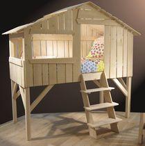 lit cabane pour enfant (mixte) TILLEUL BRUT by François Lamazerolles MATHY BY BOLS