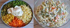 Garnitürlü Makarna Salatası | Kuzinede Kızaran Ekmek