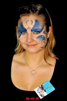Maquillage artistique face painting maquillages enfants fées princesses papillons tigres animaux licornes #maquillages #facepainting