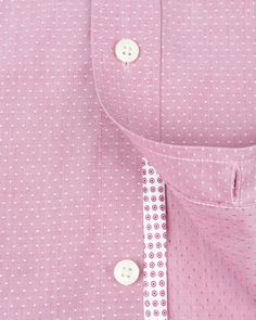 Pin dot shirt - Pink | Outlet | Ted Baker UK