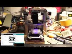 Diy Arduino Laser CNC Engraver and PCB Exposer - YouTube