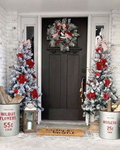 21 Outdoor Christmas Decoration Ideas For Some Holiday Magic