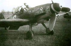 """Messerschmitt Bf 109 K-4 W.Nr.330230 """"White 17"""" 9./JG 77, Neuruppin, November 1944."""