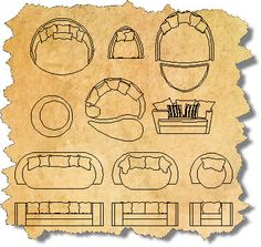 Outdoor CAD Furniture Blocks | AutoCAD Outdoor Furniture Symbols | CAD Outdoor…