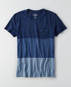 AEO Indigo Graphic Crew T-Shirt, Men's