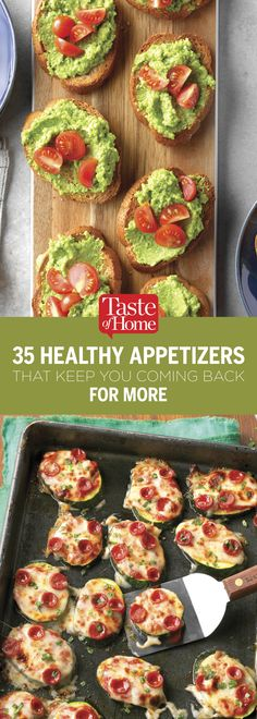 35 Healthy Appetizers That Keep You Coming Back for More