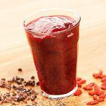 Yogic Diet recipe 5, Red berry chia smoothie - Ekhart Yoga