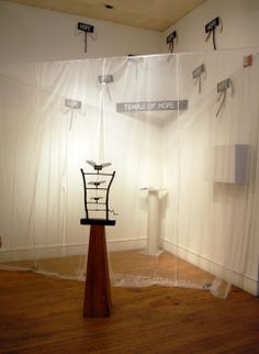 temple of hope, afa gallery installation