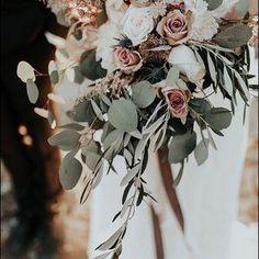 33 Burgundy Blush Sage Wedding Ideas - You and Big Day Sage Wedding, Our Wedding Day, Floral Wedding, Perfect Wedding, Wedding Bouquets, Dream Wedding, Wedding Hair, Wedding Dresses, Wedding Themes