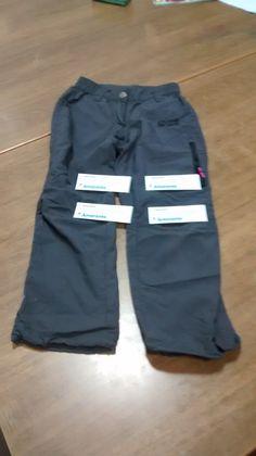 Pantalón de Montaña de Verano, Talla 6 años. Valor: 4 Amarantos