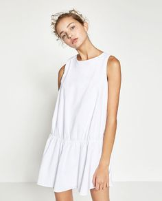 Image 1 of DRESS WITH ELASTIC SKIRT from Zara
