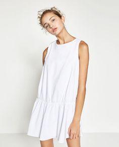 ZARA - WOMAN - DRESS WITH ELASTIC SKIRT