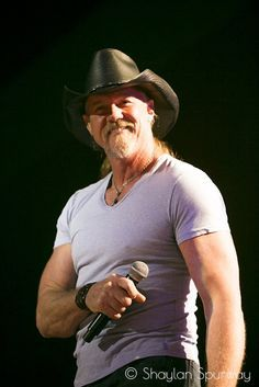 Trace Adkins  My BFF invited me to go to his concert. March 23, 2013
