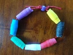 Remind children of the important aspects of the Christian faith as they craft the Colors of Faith Paper Bead Bracelet.