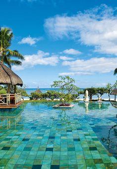 La Pirogue hotel pool ! Mauritius Island