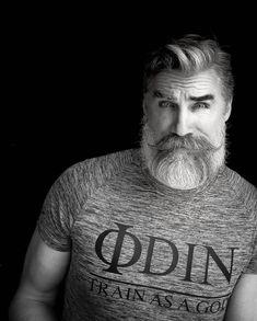 "102 Likes, 2 Comments - Odin Gear® | Train As A God (@odin.gear) on Instagram: ""Age is just a number. #whitemilkmoustache  Model: @berzinsky"""