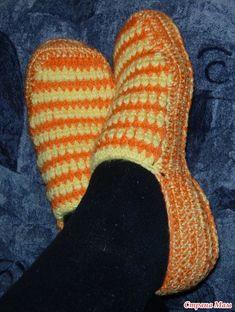 Sunny slippers crochet - Country Moms
