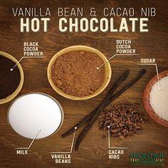 Vanilla Bean-Infused Cacao Nib Hot Chocolate | Frontier Co-op