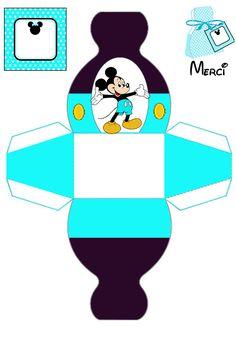 Mickey & Minnie Mouse Printables at Visit Site Disney Diy, Disney Crafts, Printable Box, Paper Toys, Paper Crafts, Mickey Mouse Gifts, Theme Mickey, Mickey E Minie, Disney Printables