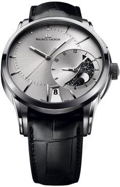 Maurice Lacroix Pontos Decentrique GMT ref pt6118-ss001-131.