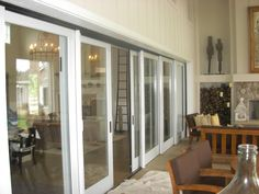 Multi Sliging Patio Doors By Pella. Installed In Napa California.  Www.pellanorcal
