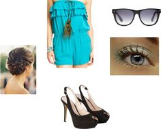 Summer outfit, created by tiffintots on Polyvore