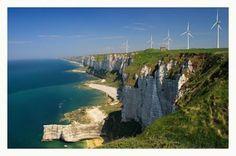 Fecamp France coastline