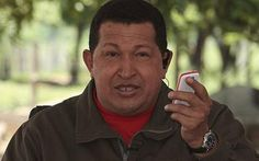 ♥ Hugo Chavez launches mobile phone with rude name