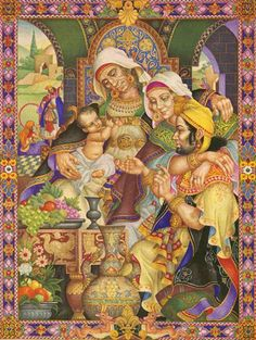 The Book of Ruth. Arthur Szyk, 1947