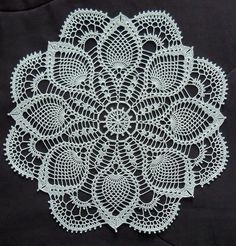 Magic Crochet Doily Free Pattern