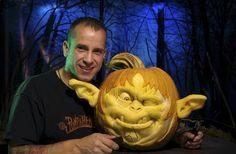 Master Pumpkin Carver RayVillafane - Read More at AmericanProfile.com