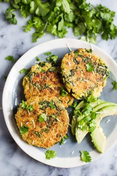 These Kale & Quinoa Patties are easy to throw together and a nice heathy dinner option to please the whole family!