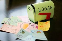 Check out this fun and educational mailbox activity #toddlers #mailboxfun #alphabet games