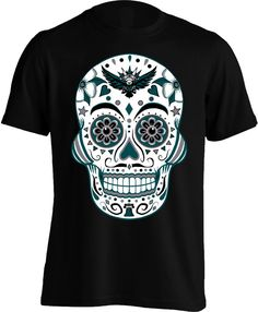 Philly Football Sugar Skull Shirt - Mens Sugar Skull Shirt c59196766