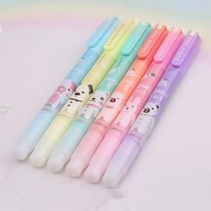 Cartoon Animal Friends Markers 6-pack