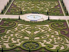 Gardens at Het Loo Palace in Apeldoorn, Netherlands
