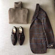 Sprezzatura-Eleganza | danielmeul: #winter classics #Dolcevita Cashmere...
