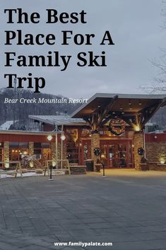 Nestled in the Pennsylvania Mountains, The Bear Creek Mountain Resort in Macungie is not just your ordinary ski resort. Whether you are looking for a day trip, or a winter vacation, this resort offers a large variety of. Cheap Travel, Us Travel, Family Travel, Family Ski, Family Trips, Leading Hotels, Mountain Resort, Hotels And Resorts, Ski Resorts