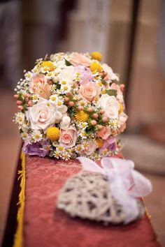 Carta kraft e washi tape per un matrimonio handmade: Silvia e Alessandro - parte 1 - Mappa e bouquet