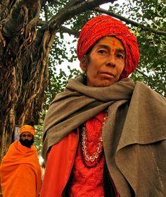 Woman sadhu