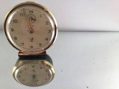 Vintage Jaz clock Rustic Home Decor Black Desk Clock Gift