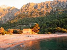 Cala Tuent, Escorca, #Mallorca (Balearic Islands, Spain). Enjoy your stay in #Mallorca in our charming hotel, a typical Catalonian country house, at the foot of the Puig de Randa. http://www.esrecoderanda.com/