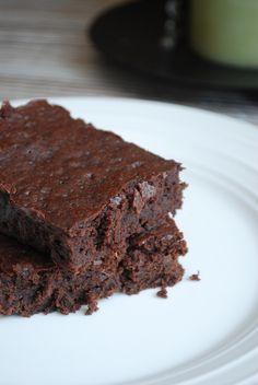 Always Order Dessert: Chocolate Banana Fudge Brownies -- Food Blog and Recipes