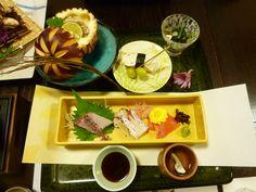 """Cena """"Kashiwaya-Honten""""(Hotel), Bessyo-Onsen(Terme), Ueda Nagano Japan"""