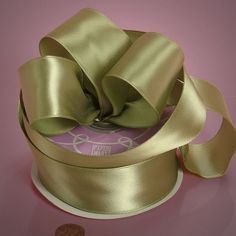 Woven-In Wired Satin Ribbons